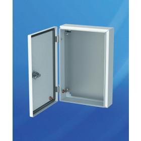 MES 40.30.12 Шкаф металлический с монтажной платой, IP66, габариты 400х300х120мм