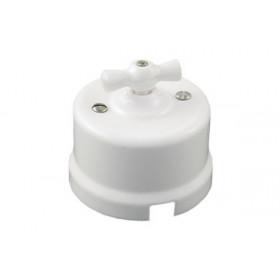 В1-202-01 Выключатель на 2 цепи, Белый