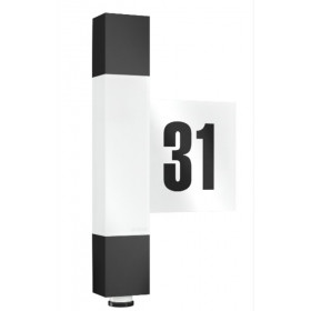 020378 L 630 LED Светильник светодиодный сенсорный настенный LED 8,2Вт, IP 44, Антрацит