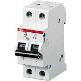 "2CDS252001R0134 Автоматический выключатель 2-полюса 13А хар. ""С""  6кА (ABB S202-C 13)"