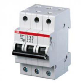 "2CDS253001R0134 Автоматический выключатель 3-полюса 13А хар. ""С""  6кА (ABB S203-C 13)"