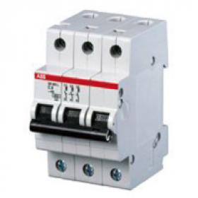 "2CDS253001R0034 Автоматический выключатель 3-полюса 3А хар. ""С""  6кА (ABB S203-C 3)"