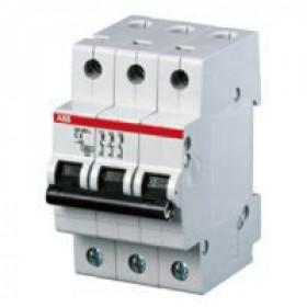 "2CDS253001R0084 Автоматический выключатель 3-полюса 8А хар. ""С""  6кА (ABB S203-C 8)"