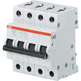 "2CDS253103R0634 Автоматический выключатель 3P+N-полюс 63А  хар. ""С"" (ABB S203-C 63 NA)"