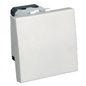 850704 Выключатель 1-кл. 45х45 (сх.1) 16 A. 250 B (бел.) LK45