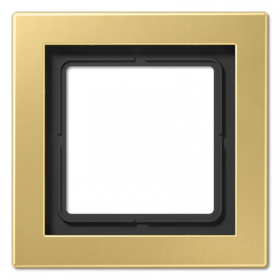 MED2981C Рамка 1-я, (LS Design),Латунь Classic