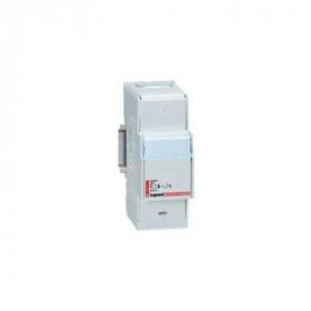 4873 Блок распределительный(кросс-модуль) на DIN-рейку 1 полюс 250A, 11 контактов