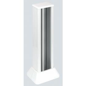ALC313-9 Мини-колонна Simon CIMA одностороняя на 6 механизмов 45х45 мм белая