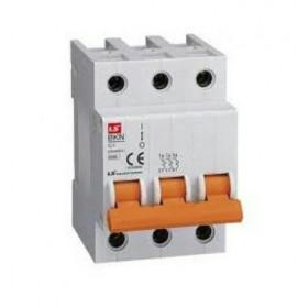 """061301638B Автоматический выключатель 3-полюса, 3А, хар.""""С"""" 6кА (LS серия BKN 3Р С3А)"""