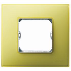 27771-61 Рамка 1-ая серия Simon 27 NEOS, Лимонный матовый