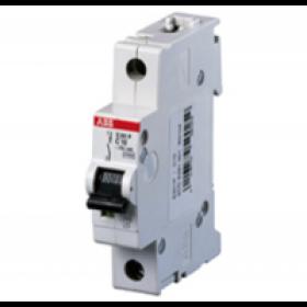 "2CDS251001R0044 Автоматический выключатель 1-полюс 4А хар. ""С"" 6кА (ABB S201-C 4)"