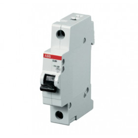 "2CDS251001R0084 Автоматический выключатель 1-полюс 8А хар. ""С""  6кА (ABB S201-C 8)"