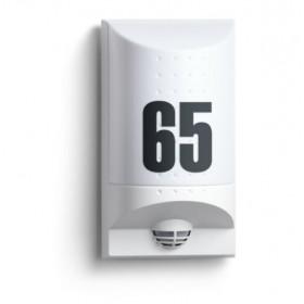 004033 L 650 LED Cветильник светодиодный 8Вт с датчиком движения угол 180гр с номером дома, БЕЛЫЙ