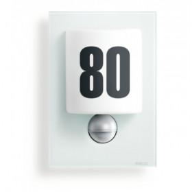 003821 L 680 LED Светильник светодиодный 8Вт с датчиком движения угол 140гр с номером дома, БЕЛОЕ