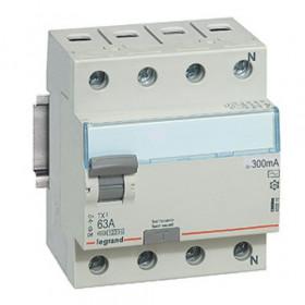 "403042 Выключатель диф.тока(УЗО) 4-полюса 25А 300мА тип ""AC"" (Legrand TX3)"