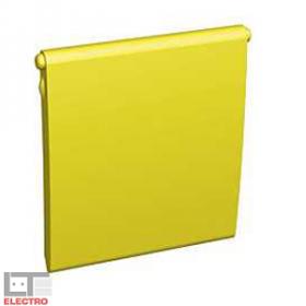 ALB45395 Крышка (10шт) для адаптера информационных розеток Altira Schneider Electric, желтый