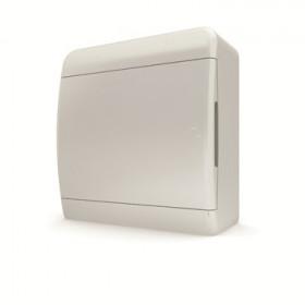 01-01-005 Щит навесной 8 мод. IP40, непрозрачная белая дверца BNN 40-08-1 (Tekfor серия B)