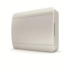 01-01-025 Щит навесной 12 мод. IP40, непрозрачная белая дверца BNN 40-12-1 (Tekfor серия B)