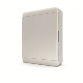 01-01-045 Щит навесной 24 мод. IP40, непрозрачная белая дверца BNN 40-24-1 (Tekfor серия B)