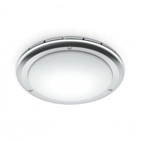 009137 RS PRO LED S1 W Glass sensor V3 Frosted shade Светильник с ВЧ датчиком 16Вт, IP 65, IK10