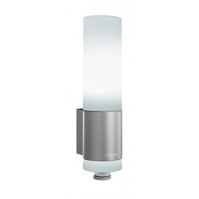 007898 L265 LED Светильник светодиодный 8Вт с датчиком движения угол 360гр, СЕРЕБРИСТЫЙ