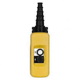 XACA281 Пульт управления подвесной для 1 скоростного двигателя 2 кнопки 1НО+1НЗ  IP65