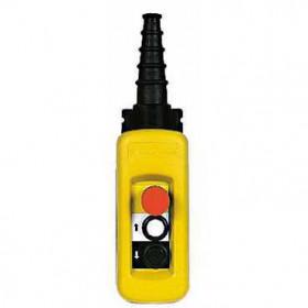 XACA2814 Пульт управления подвесной для 1 скоростного двигателя 2 кнопки 1НО+1НО+аварияная  IP65