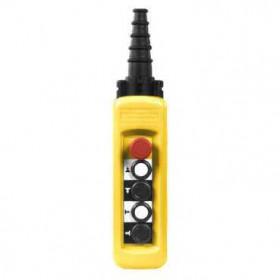 XACA49141 Пульт управления подвесной для 2 скоростного двигателя 4 кнопки 1НО+1НЗ+аварийная  IP65