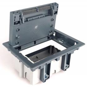 SF170-1 Лючок для бетонных полов на 2 механизма, СЕРЫЙ