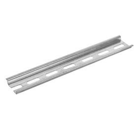 ДИН рейка ИЭК 20 см перфорированная оцинкованная YDN10-0020