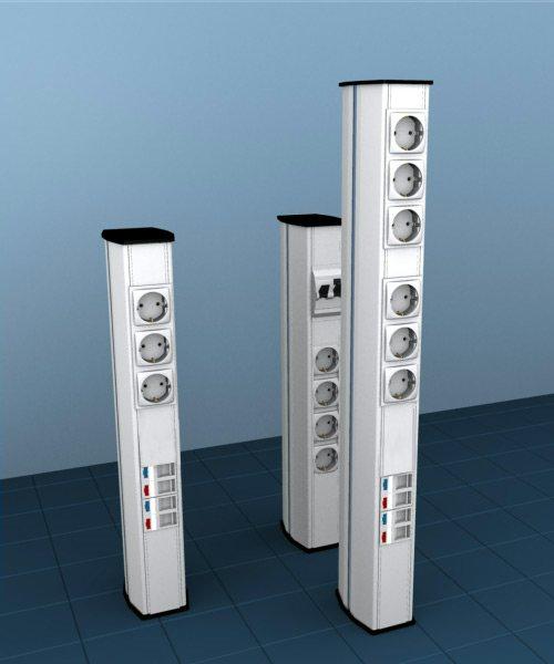 мини колонны alusor