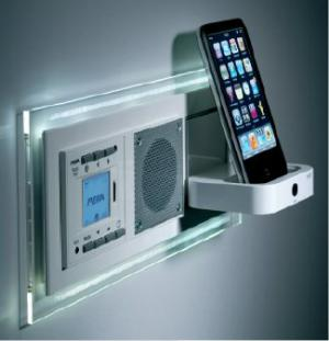 встроенное радио для ванной и кухни