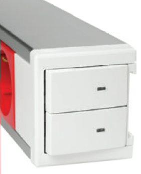 розеточный блок Efapel с выключателем