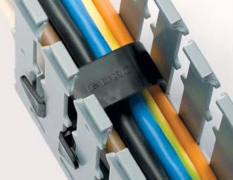 Фиксаторы кабеля
